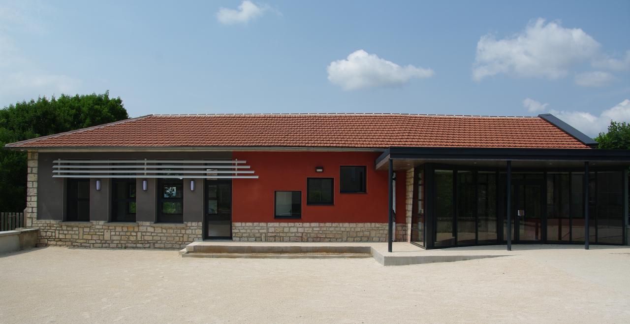 Réhabilitation de l'ancienne école pour en faire la mairie