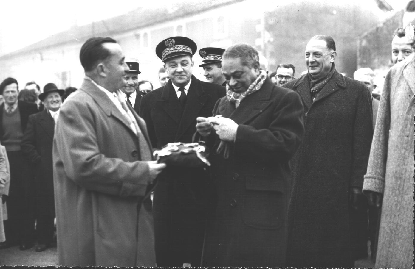 Laburgade 1956 inauguration 12