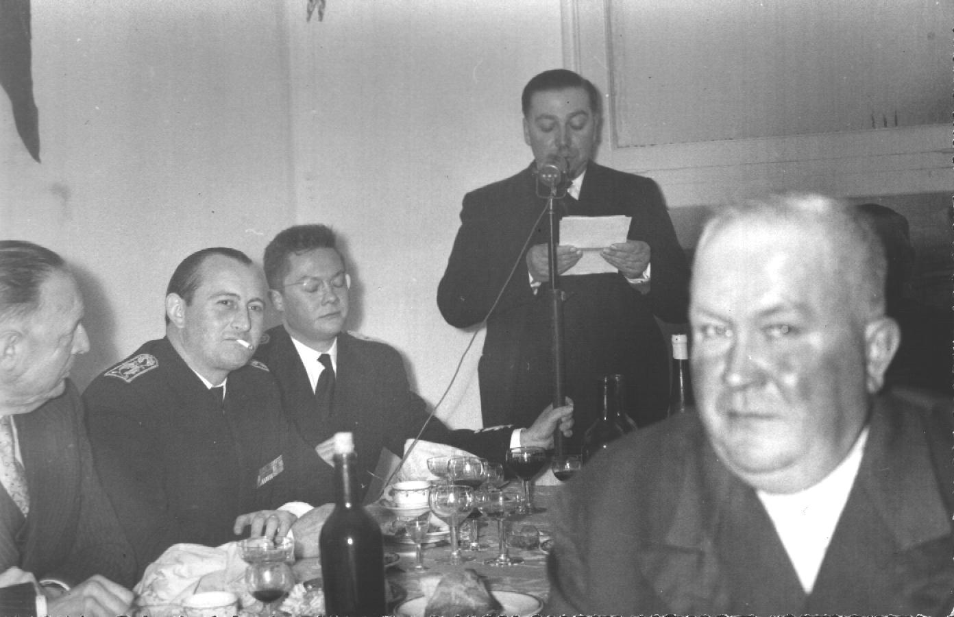 Laburgade 1956 inauguration 14