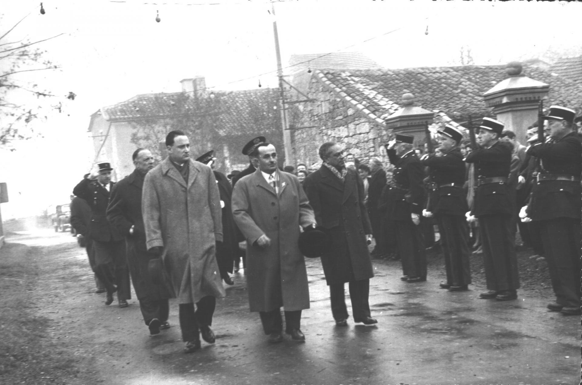 Laburgade 1956 inauguration 16