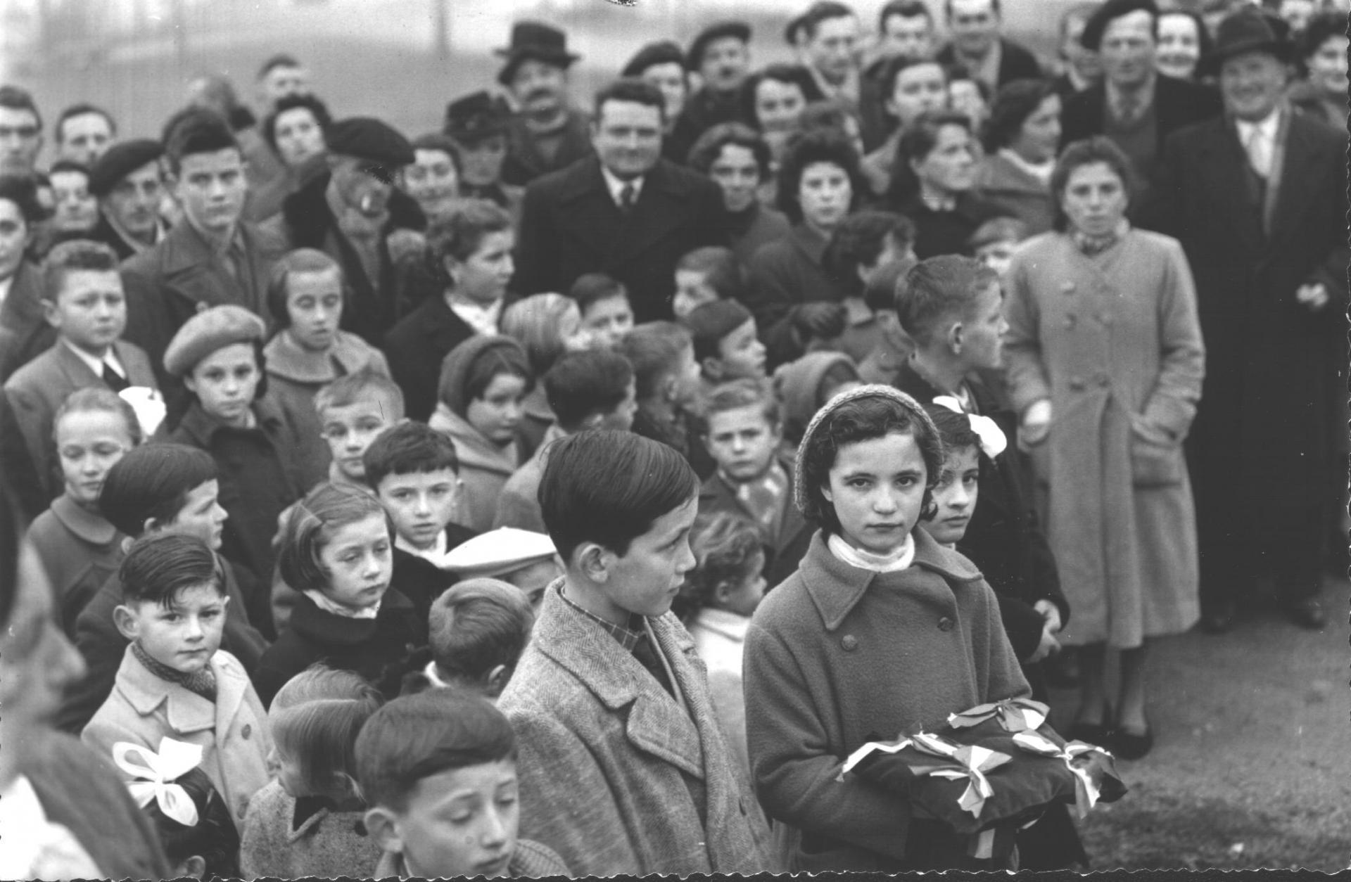 Laburgade 1956 inauguration 17