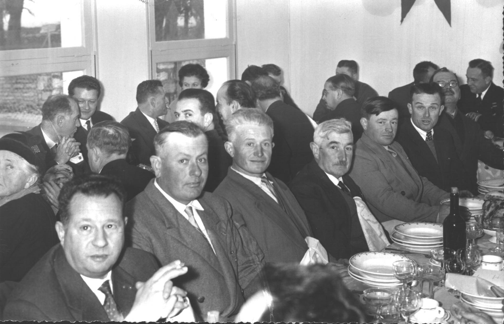 Laburgade 1956 inauguration 4