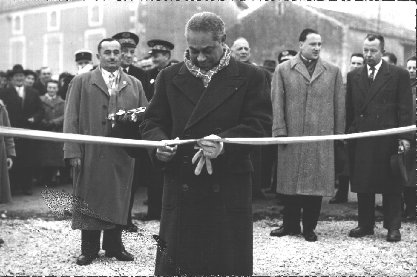 Laburgade 1956 inauguration 8