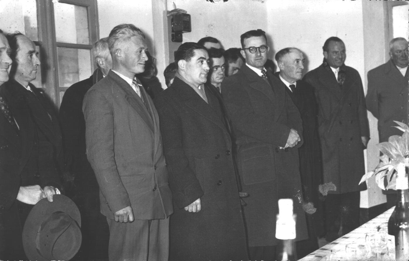 Laburgade 1956 inauguration 9